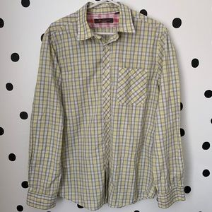 MAKE OFFER NWOT BEN SHERMAN BUTTON DOWN L